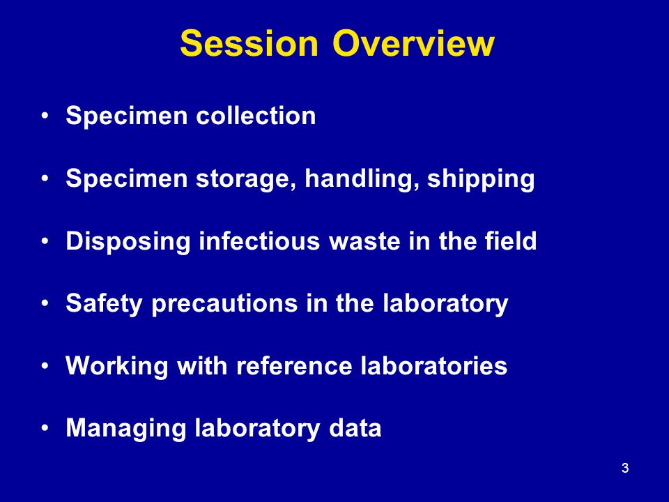 4 The Specimen Collection Kit