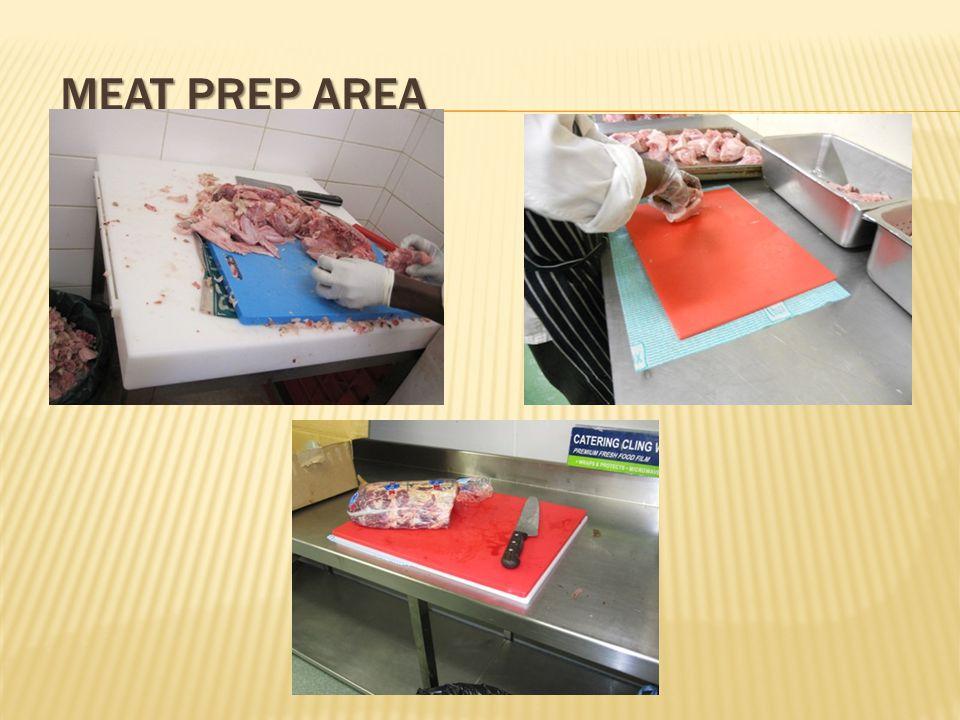 MEAT PREP AREA