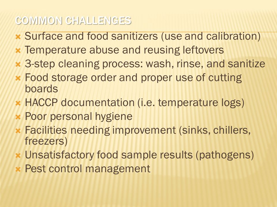 HANDS ON - ANSWERS  If observation score is 80% and Food was collected and analyzed as follows, what is overall HACCP score.
