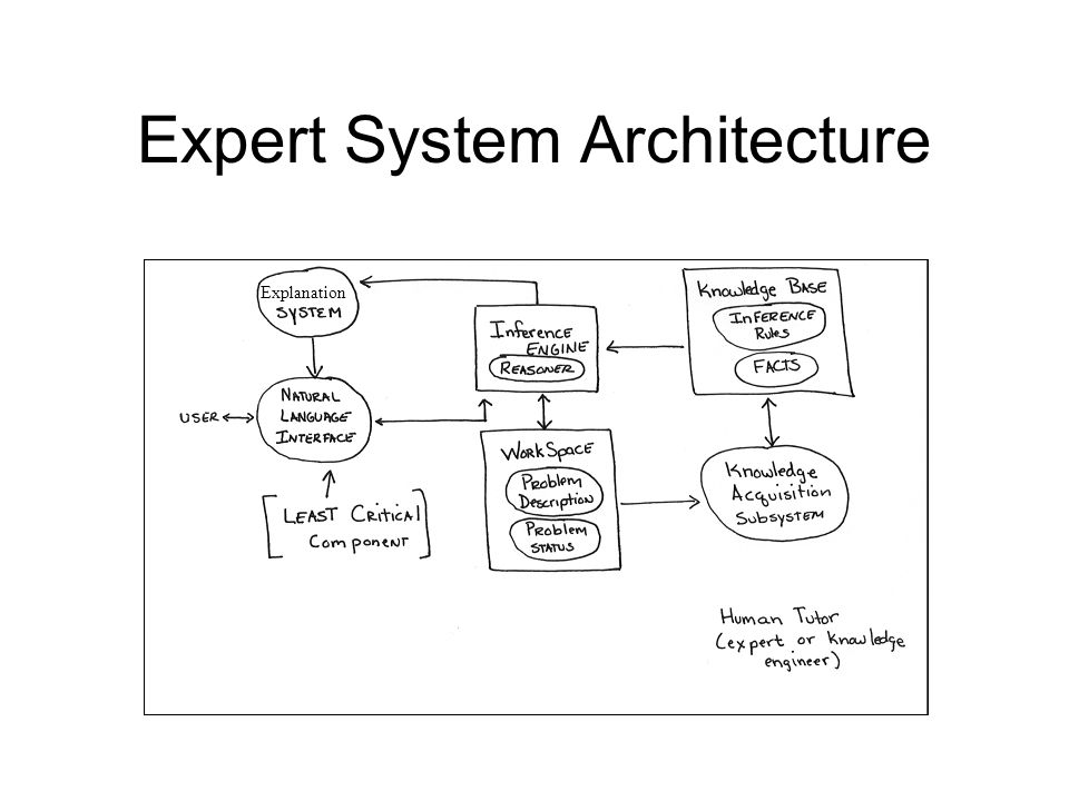Expert System Architecture Explanation