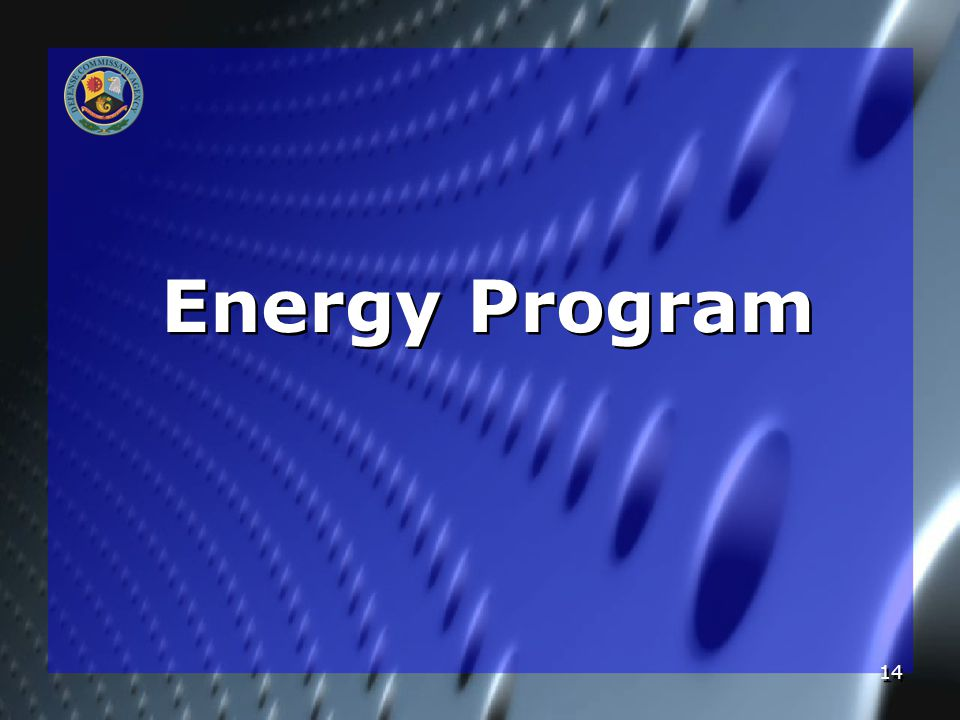 14 Energy Program
