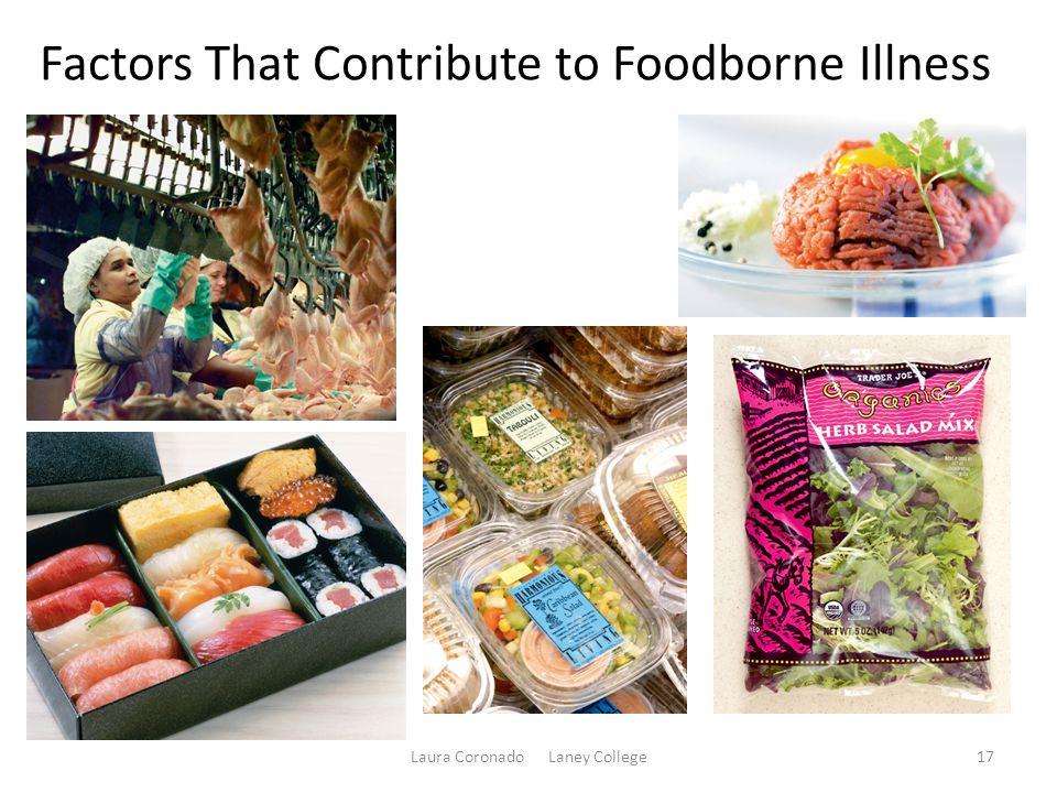 Factors That Contribute to Foodborne Illness Laura Coronado Laney College17