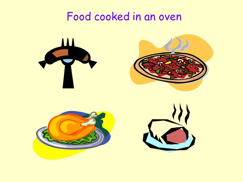 Independent Living 17 Quiz Question 1 Can you name any food you can cook in the oven? Click on the oven if you need help.