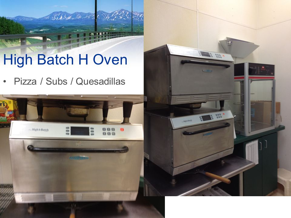 Food and Beverage High Batch H Oven Pizza / Subs / Quesadillas