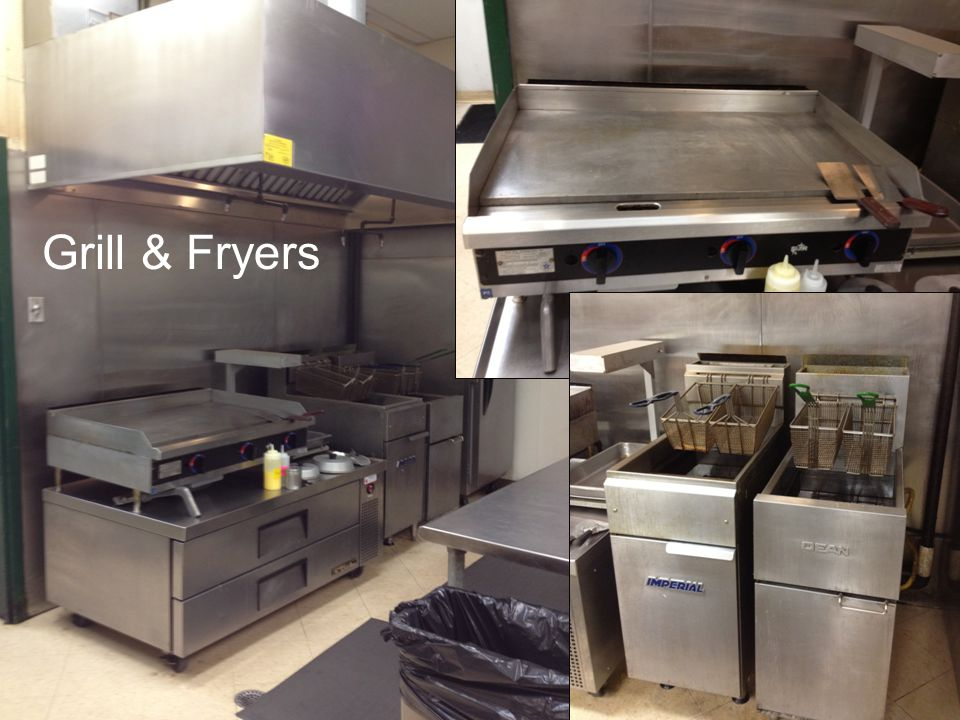 Food and Beverage Grill & Fryers