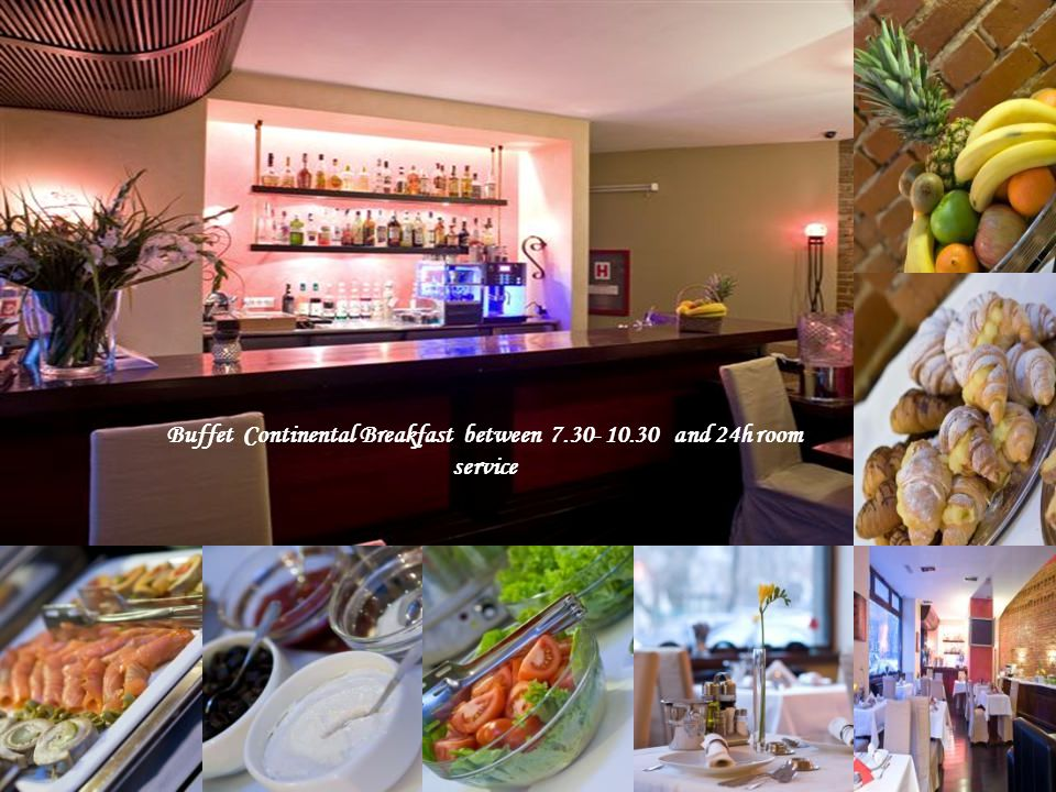 llll Guests in our Executive A Bucharest Hotel with Personality chen Buffet Continental Breakfast between 7.30- 10.30 and 24h room service
