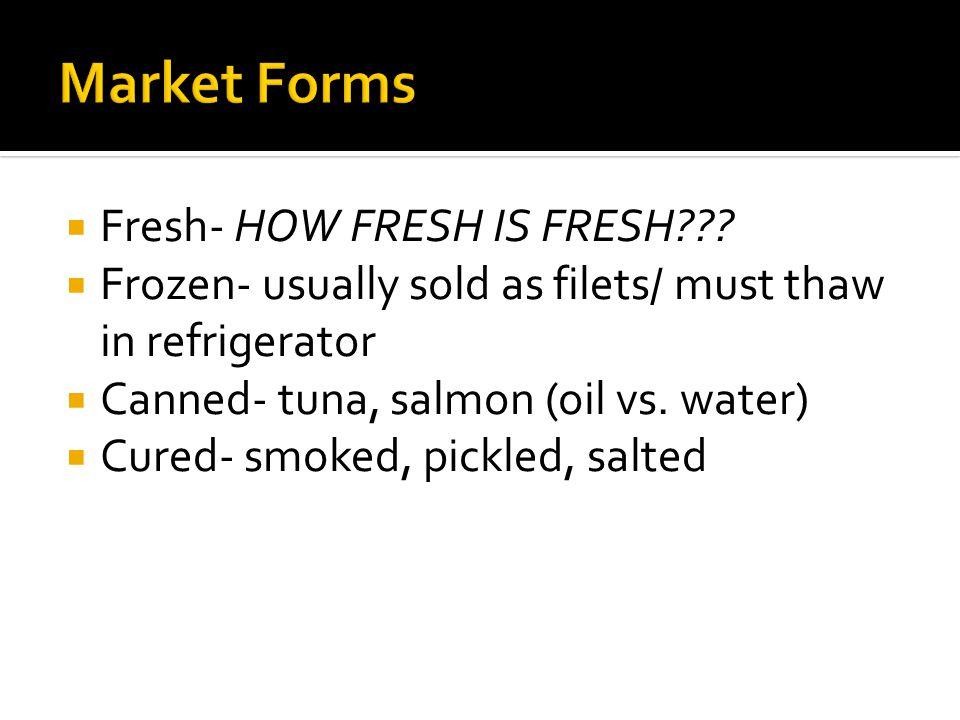  Fresh- HOW FRESH IS FRESH??.