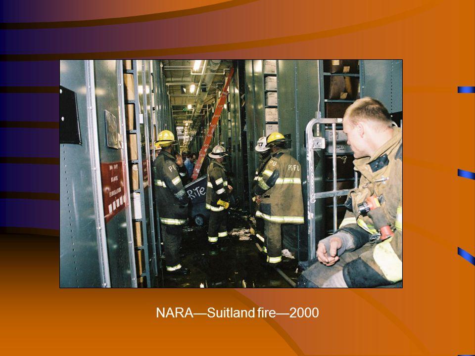 NARA—Suitland fire—2000