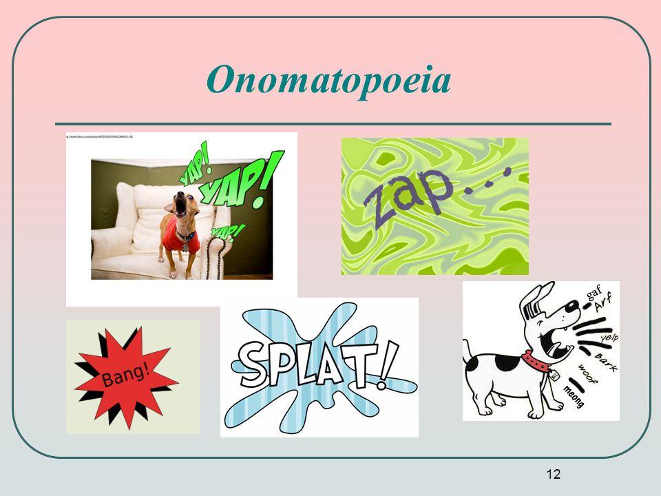 12 Onomatopoeia