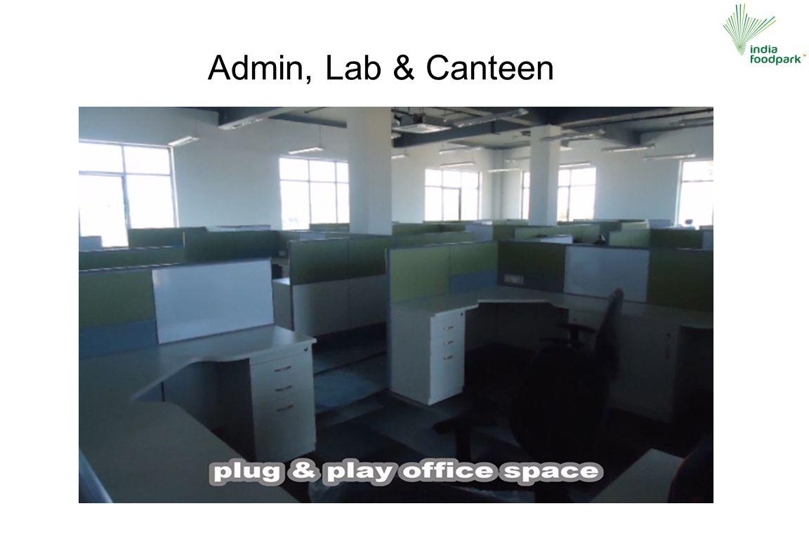 Admin, Lab & Canteen