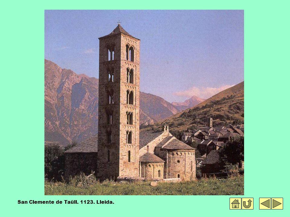 San Clemente de Taüll. 1123. Lleida.