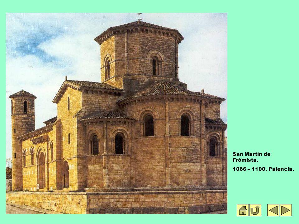 San Martín de Frómista. 1066 – 1100. Palencia.
