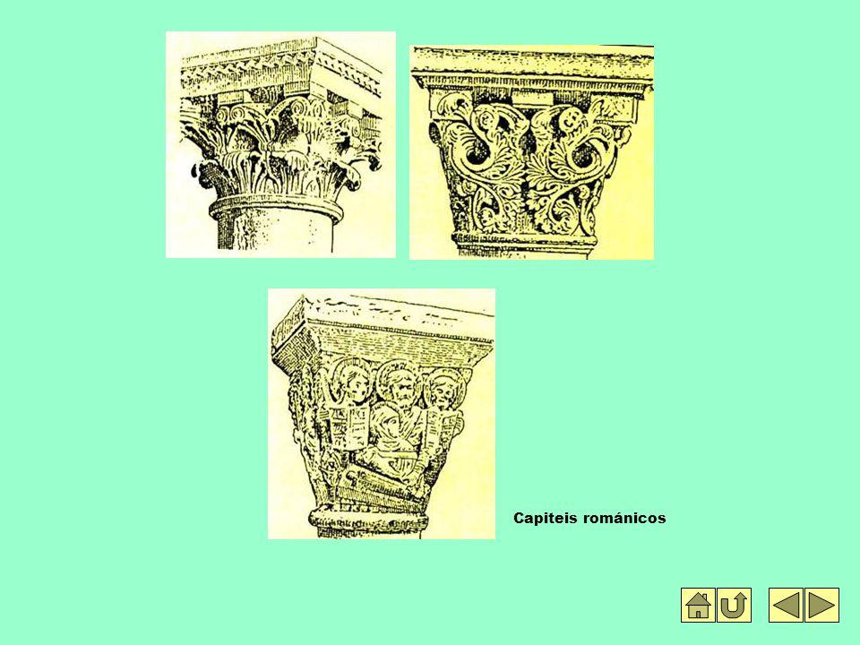 Capiteis románicos