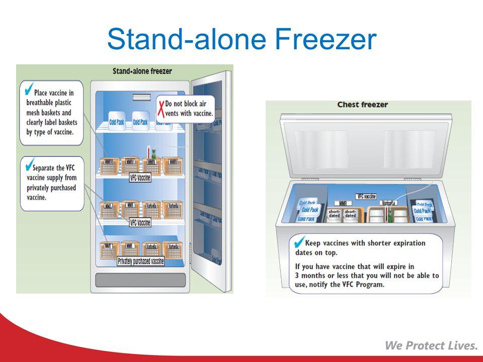 Stand-alone Freezer