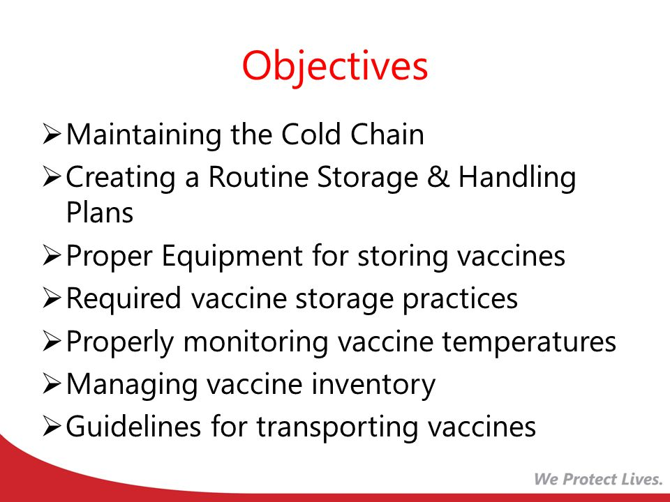 Vaccine Inventory Vaccine inventory accounting is important for efficient vaccine management.