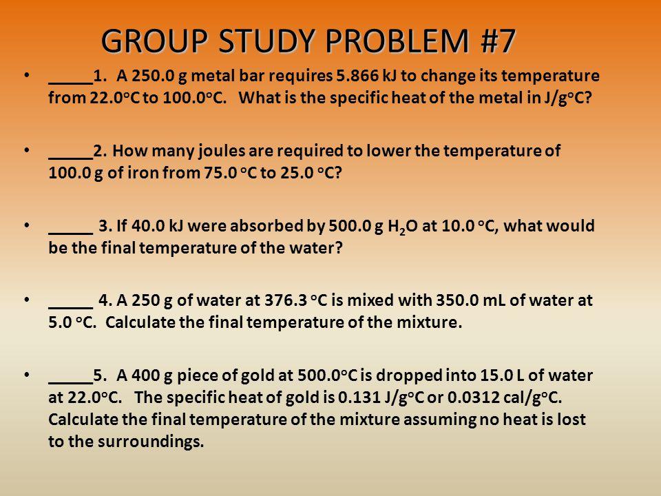 GROUP STUDY PROBLEM #7 _____1.