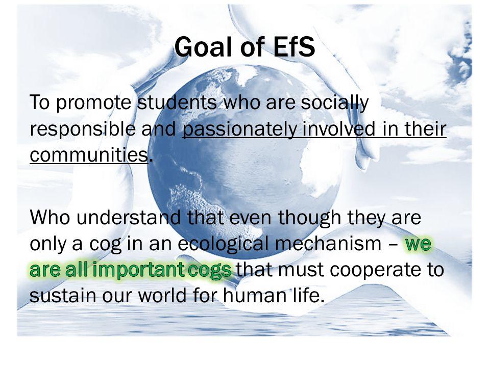 Goal of EfS