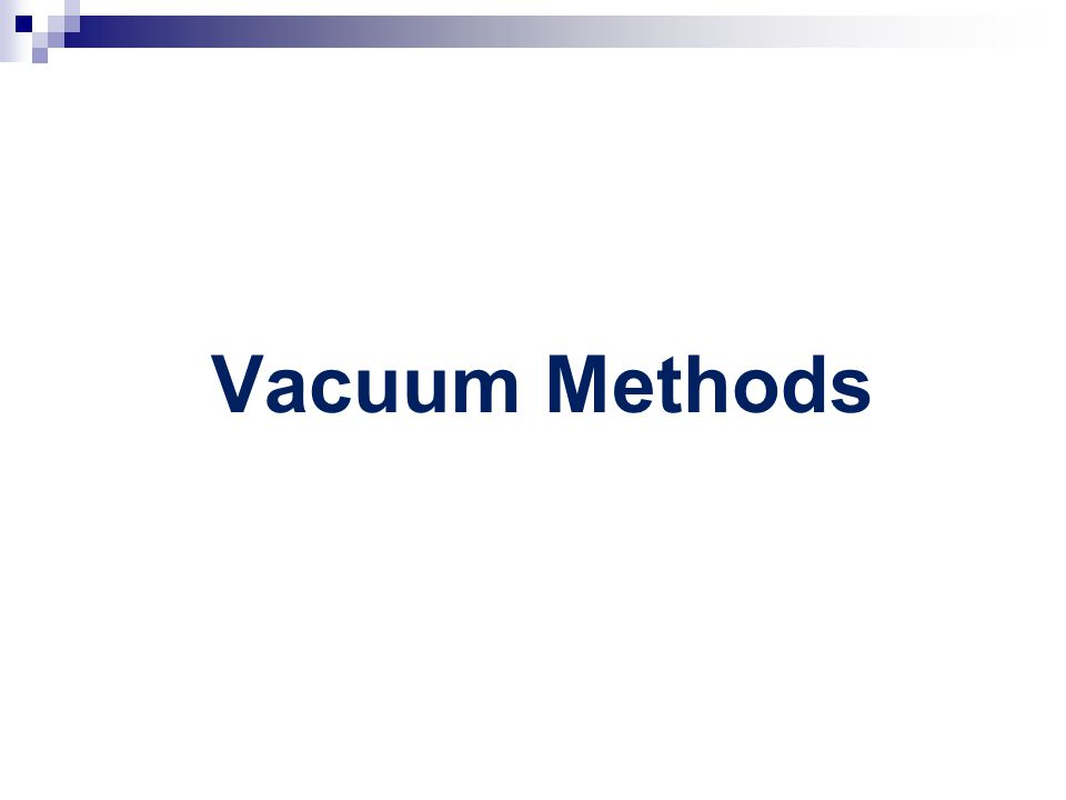 Vacuum Methods Vacuum metal deposition (VMD) – Columnar Thin Films (CTF)  Smooth nonporous surfaces  Plastic bags/plastic packaging material/smooth surfaces  Drawbacks  Equipment is expensive  Sample chamber is small  Procedure  VMD - Evaporates Gold and then Cd or Zn in vacuum chamber  Thin metal film deposited onto print  CTF – Can work with other methods – Superglue fuming Fingerprint ridge Vacuum Deposited Gold Vacuum Deposited Zinc or Cadmium How VMD Works