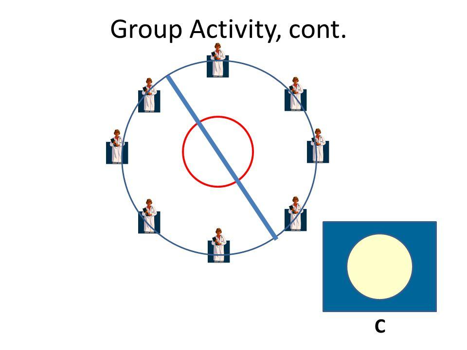 Group Activity, cont. C