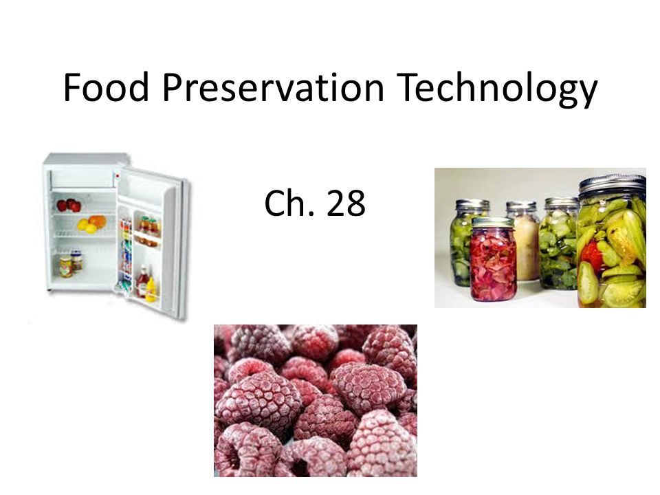Objectives: Describe the effect of freezing on foods Identify and describe commercial freezing methods Demonstrate how to choose and package foods for freezing at home Explain the role of sublimation in freeze-drying Explain how irradiation preserves foods Assess arguments for and against irradiation Evaluate the suitability of containers for commercial food packaging Compare modified-atmosphere packaging with aseptic packaging Vocabulary: Electromagnetic spectrum Electromagnetic waves Flash frozen Gray Immersion freezing Indirect-contact freezing Irradiation Kilogray (kGy) Lyophilization Modified-atmosphere packaging (MAP) Radiation