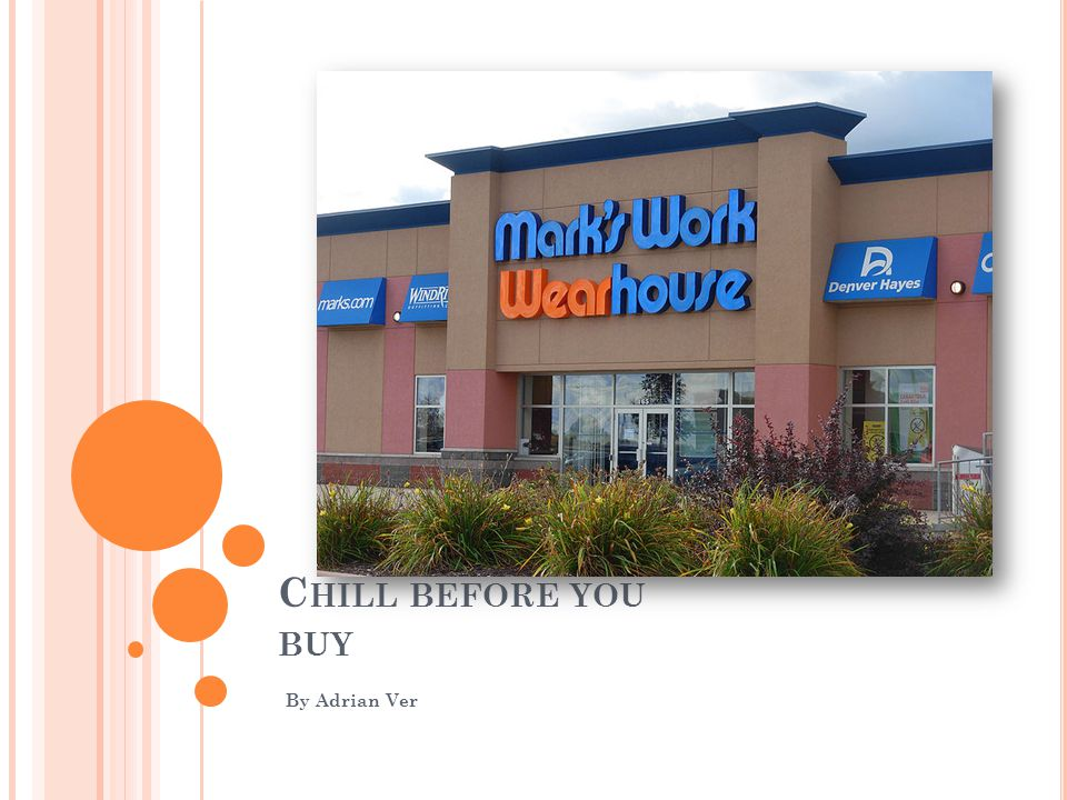 C HILL BEFORE YOU BUY By Adrian Ver
