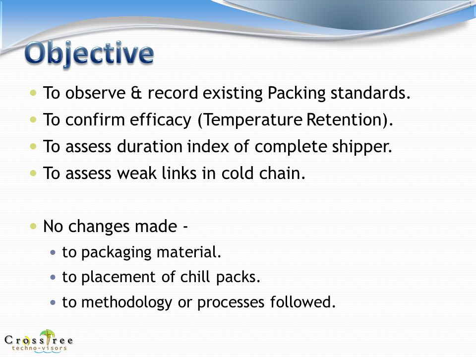 Creating a sensible cold-chain !