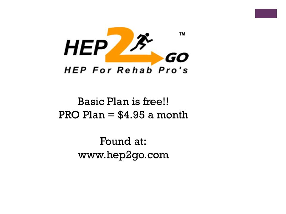 Basic Plan is free!! PRO Plan = $4.95 a month Found at: www.hep2go.com