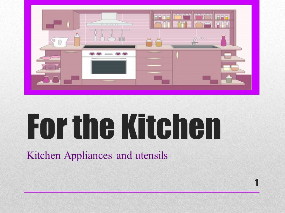 2 Considering the factors…  Whether the item is needed  The important features of the item  Can it be used for multiple tasks (helps save money!) When choosing utensils and appliances for your kitchen, you want to focus on a few factors:
