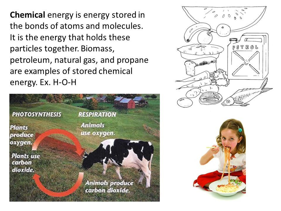 Elastic (Mechanical) energy is energy stored in objects by the application of a force.
