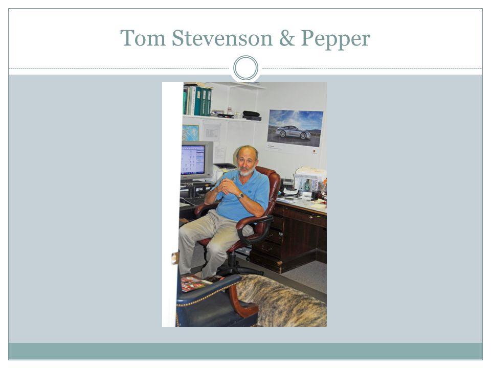 Tom Stevenson & Pepper