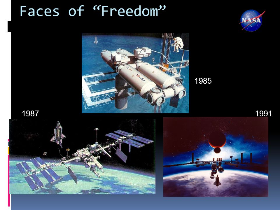 Faces of Freedom 1985 19871991