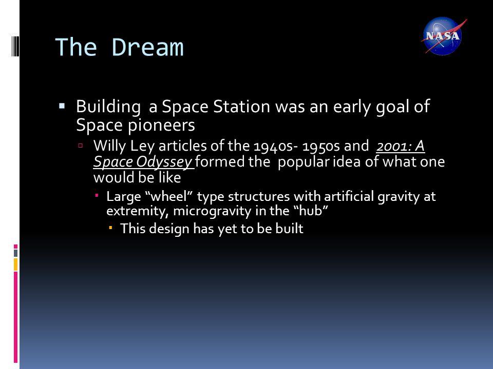Von Braun Space Station Sketch (ca. 1947)