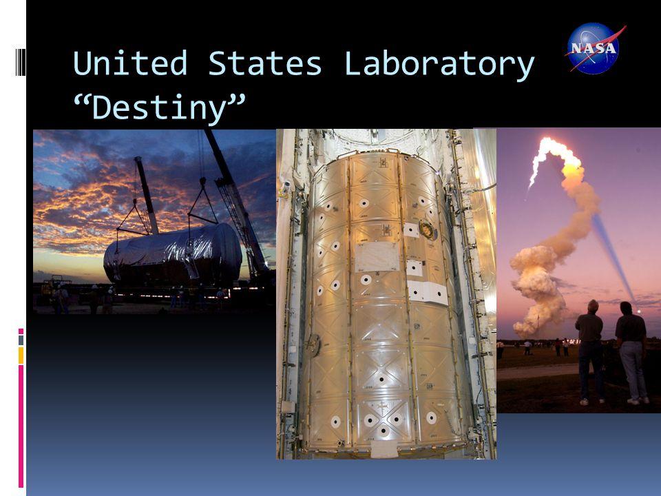 "United States Laboratory ""Destiny"""