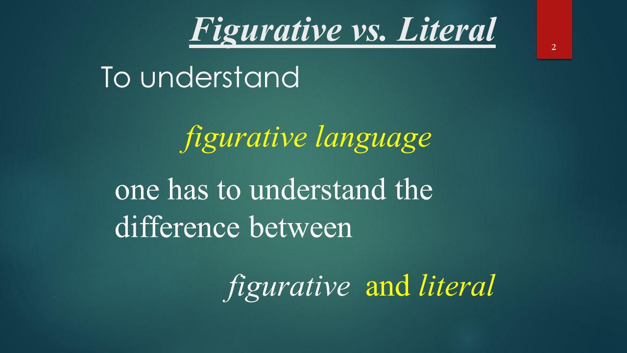Figurative vs.