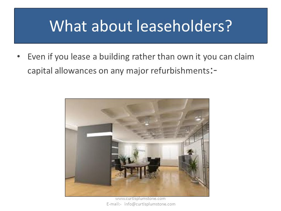 What about leaseholders.