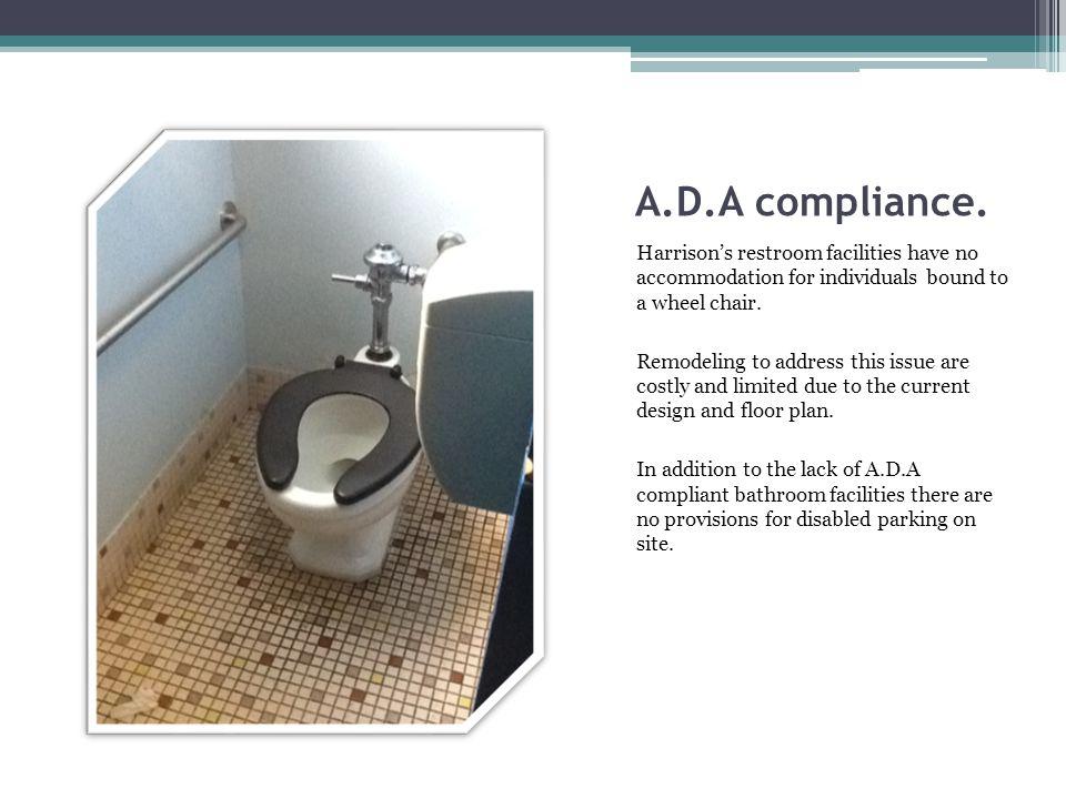 A.D.A compliance.