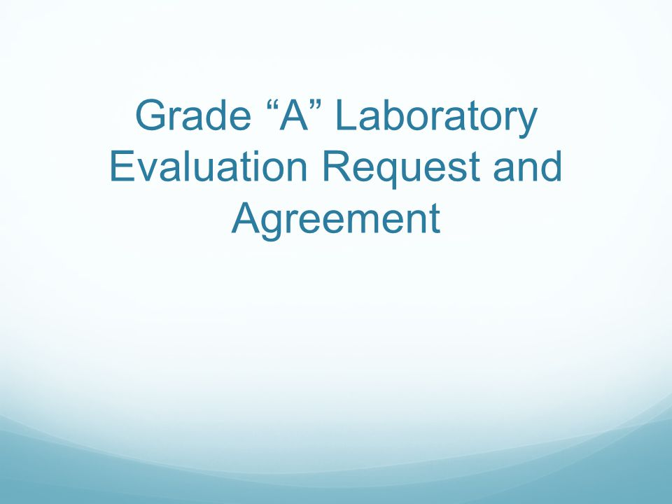Provided form is a sample that can be modified to be approved by the assigned laboratory evaluation officer.