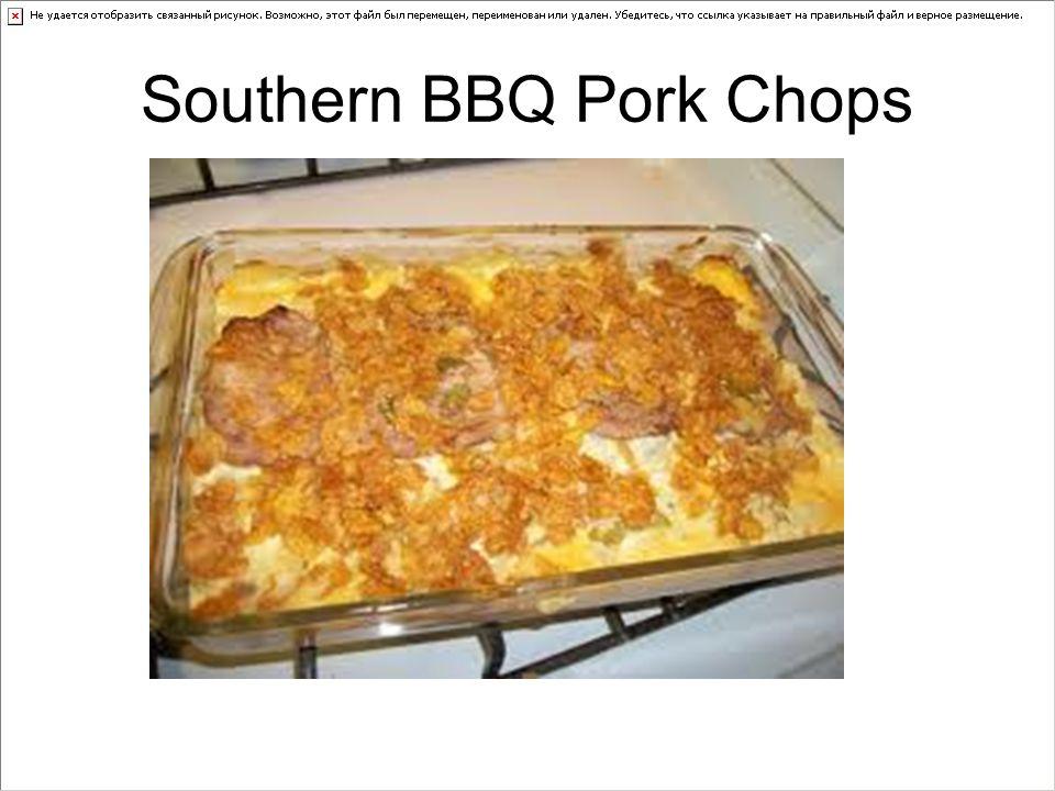 Southern BBQ Pork Chops