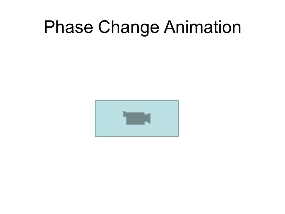 Phase Change Animation