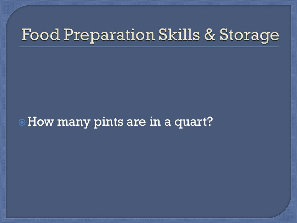  How many pints are in a quart