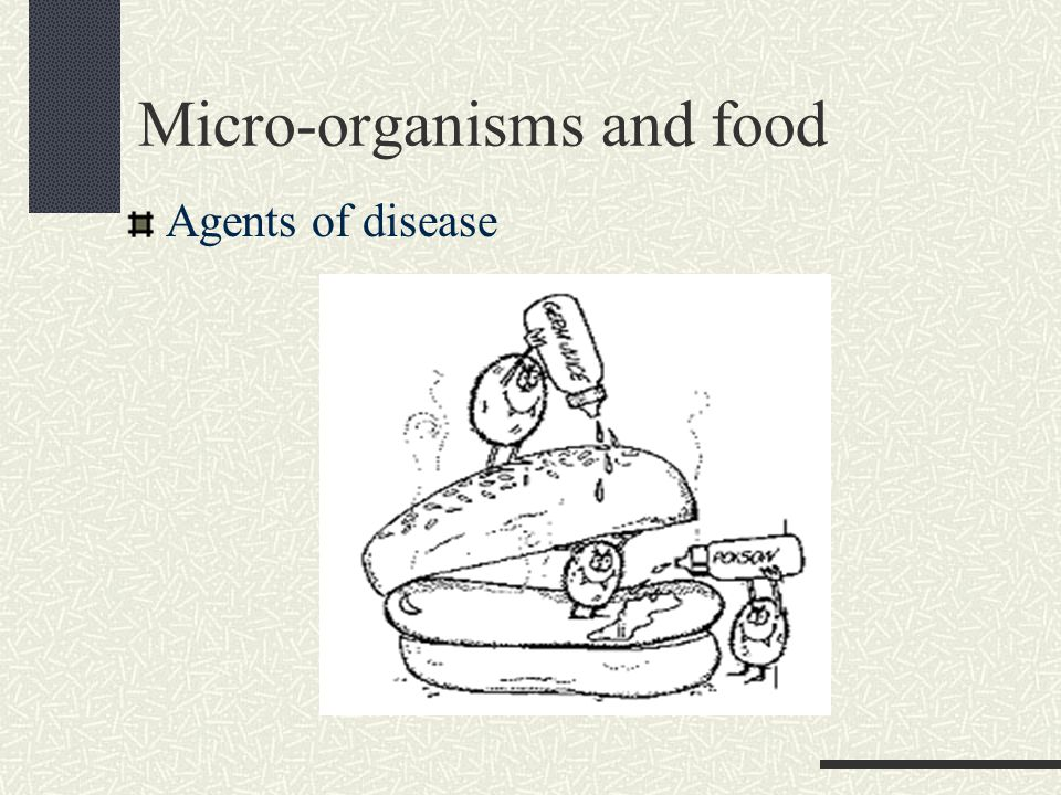Micro-organisms and food Agents of disease