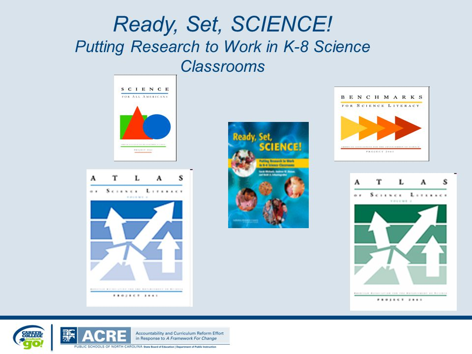 Ready, Set, SCIENCE! Putting Research to Work in K-8 Science Classrooms