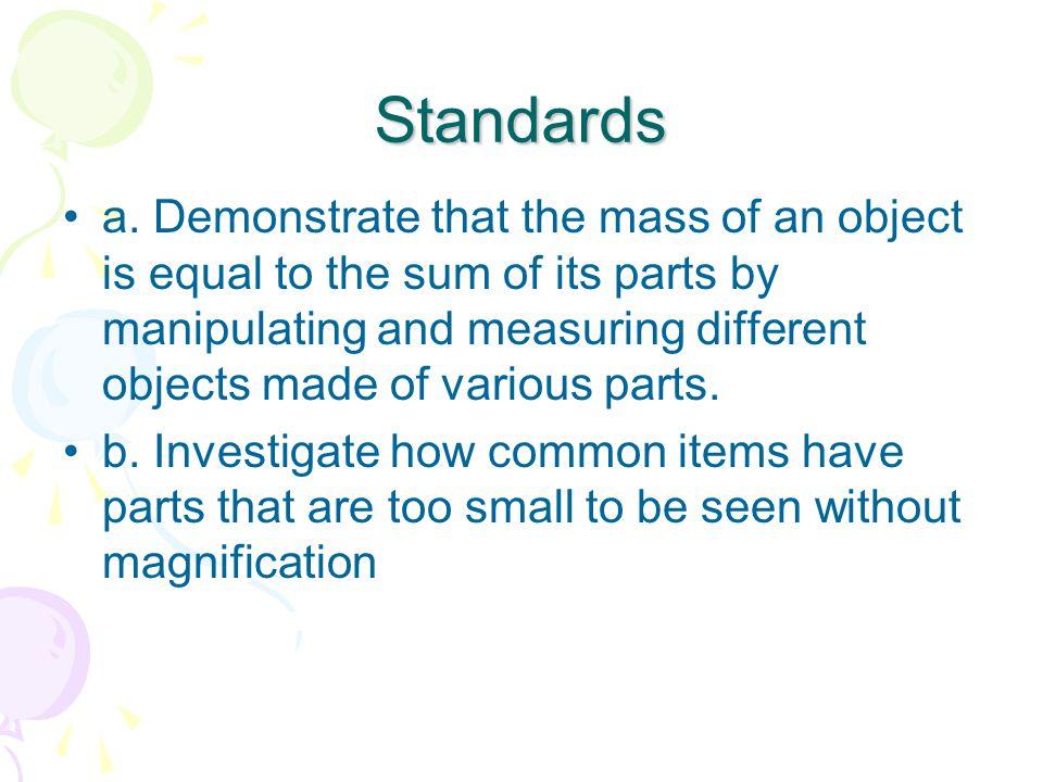 Standards c.