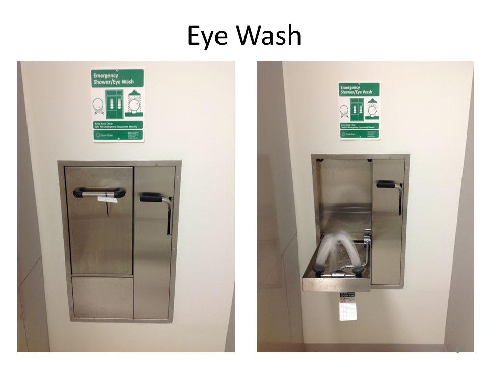 8 Eye Wash