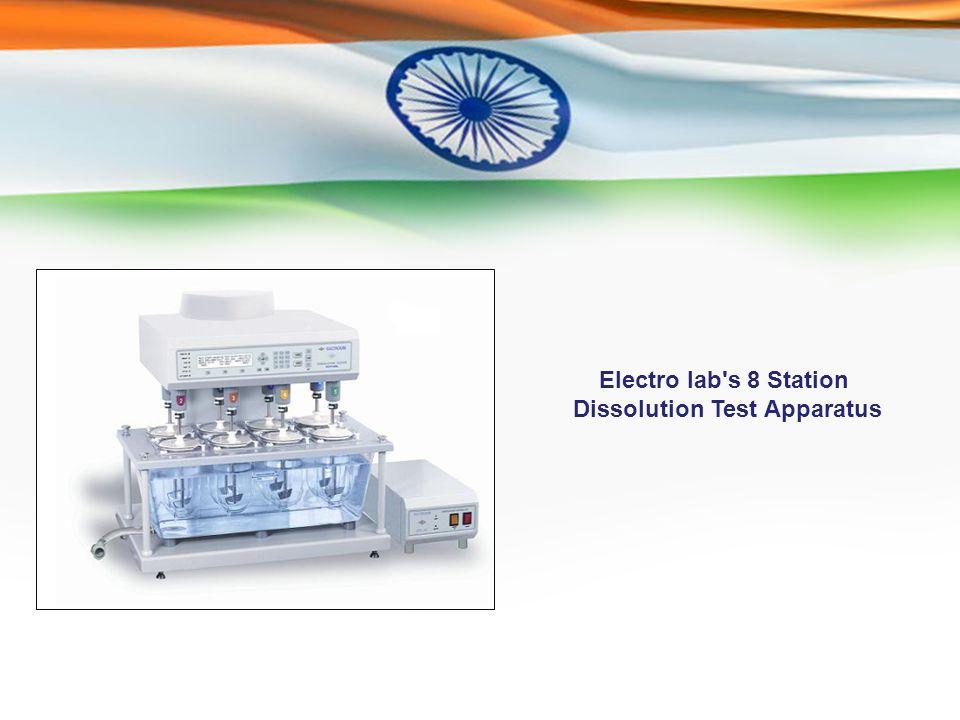 Electro lab s 8 Station Dissolution Test Apparatus