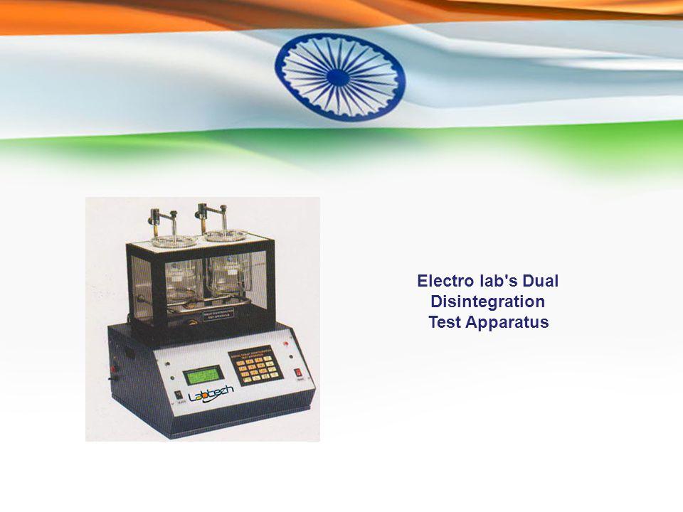 Electro lab s Dual Disintegration Test Apparatus
