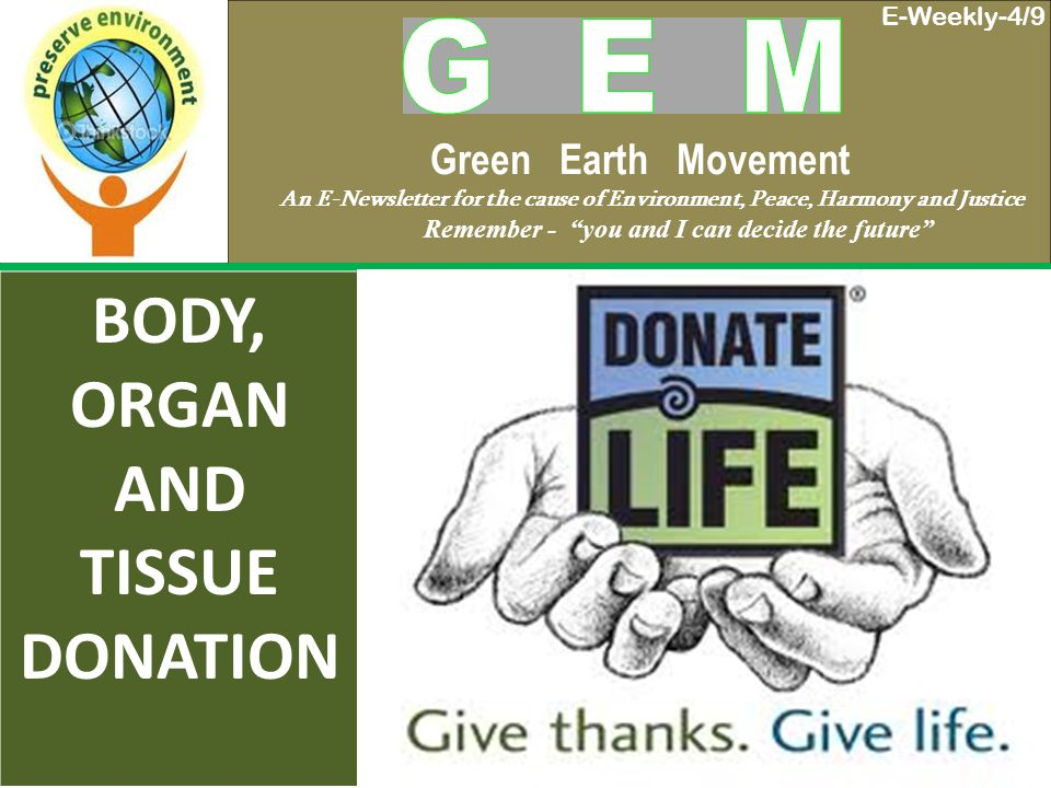 WHAT IS BODY DONATION.