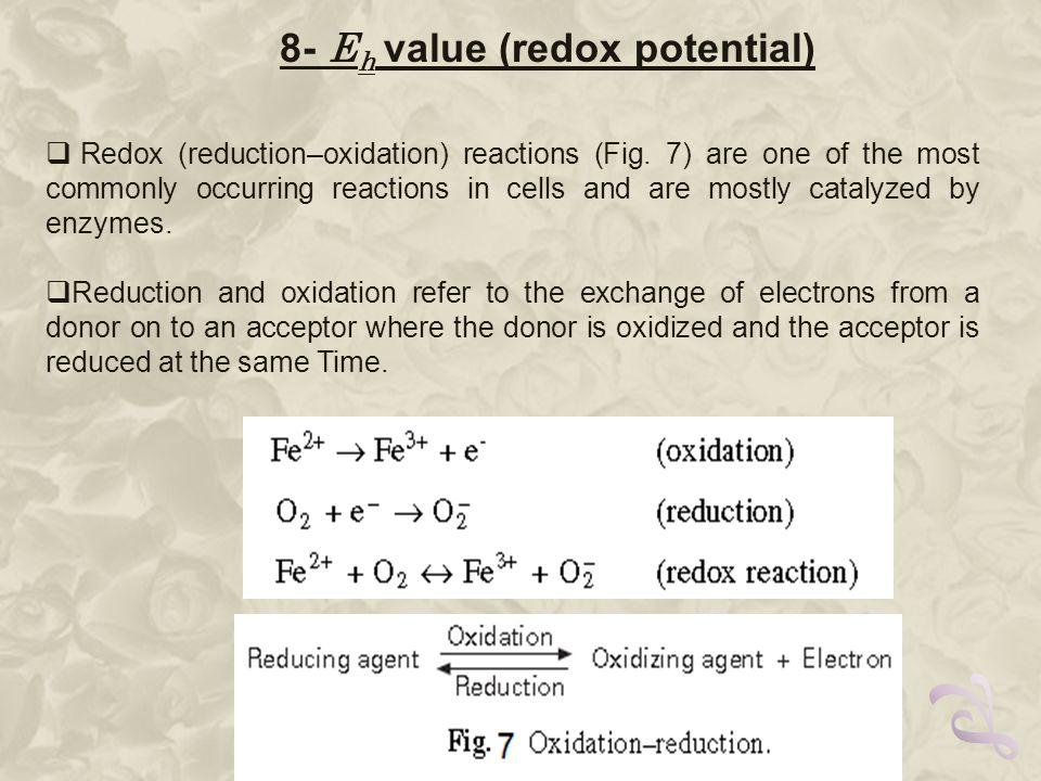  Redox (reduction–oxidation) reactions (Fig.