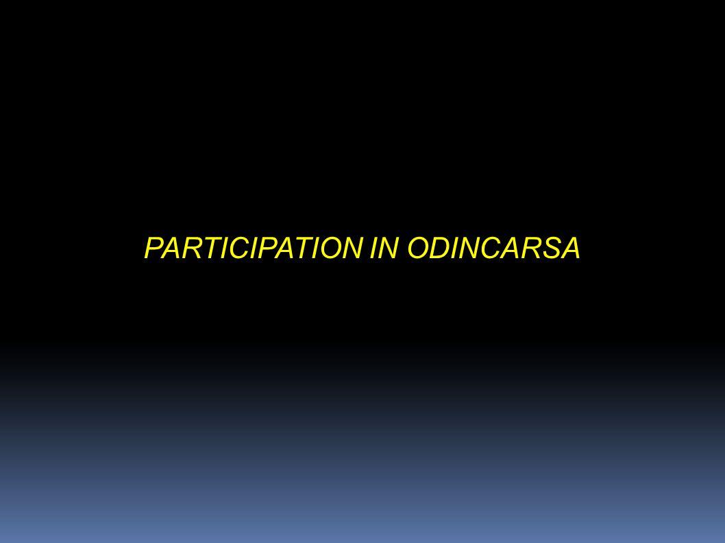 PARTICIPATION IN ODINCARSA