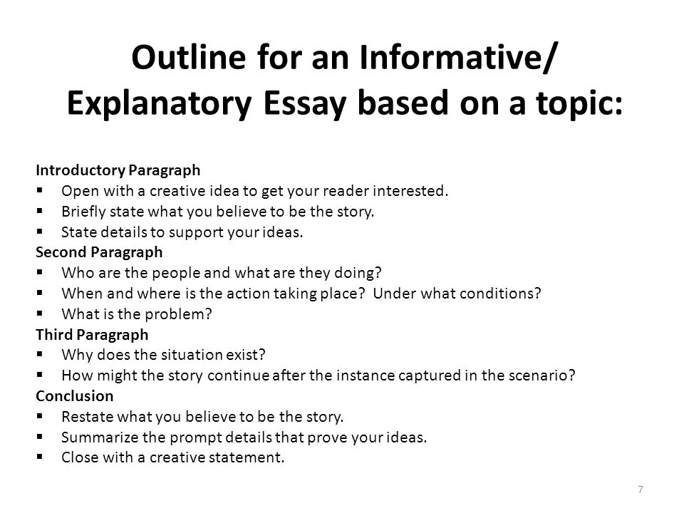 Easy Informative Essay Topics